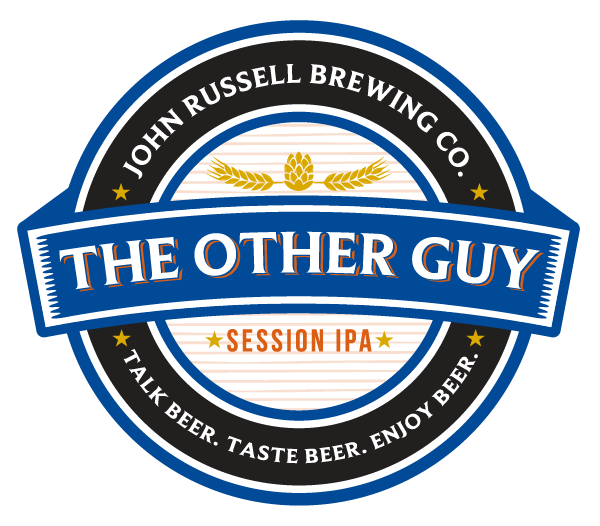 John Russell Brewing Co Label theotherguy